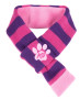 k9 scarf pink/purple