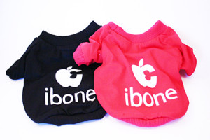 ibone tee in red or black