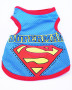 superman mesh vest blue