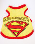 superman mesh vest yellow