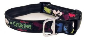 cycledog regular width collar paint splash