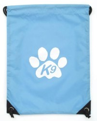 k9 travel bag blue