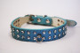 rhinestone collar in blue