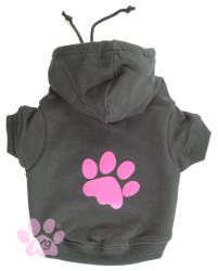 K9 Paw Hoody Pink for dogs