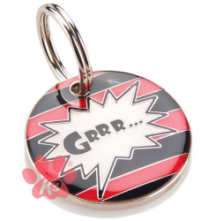 Grrr Collar Charm / id Tag by K9