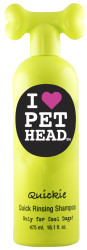 pet head quick rinse shampoo