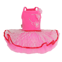 puppy angel hot pink tutu